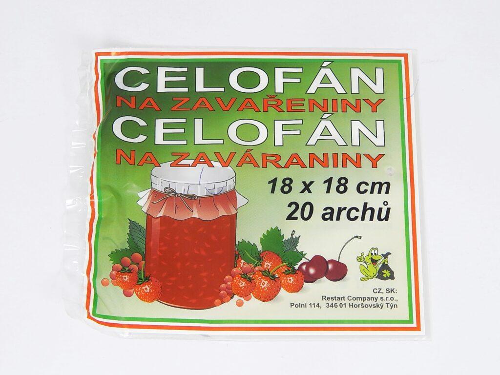 Přířezy celofánové 18x18cm /CEL-0012/