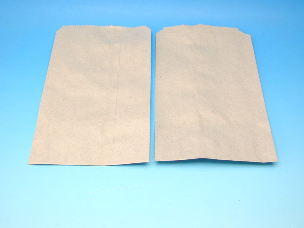 Sáček papírový 1,5kg plochý (19x32cm)