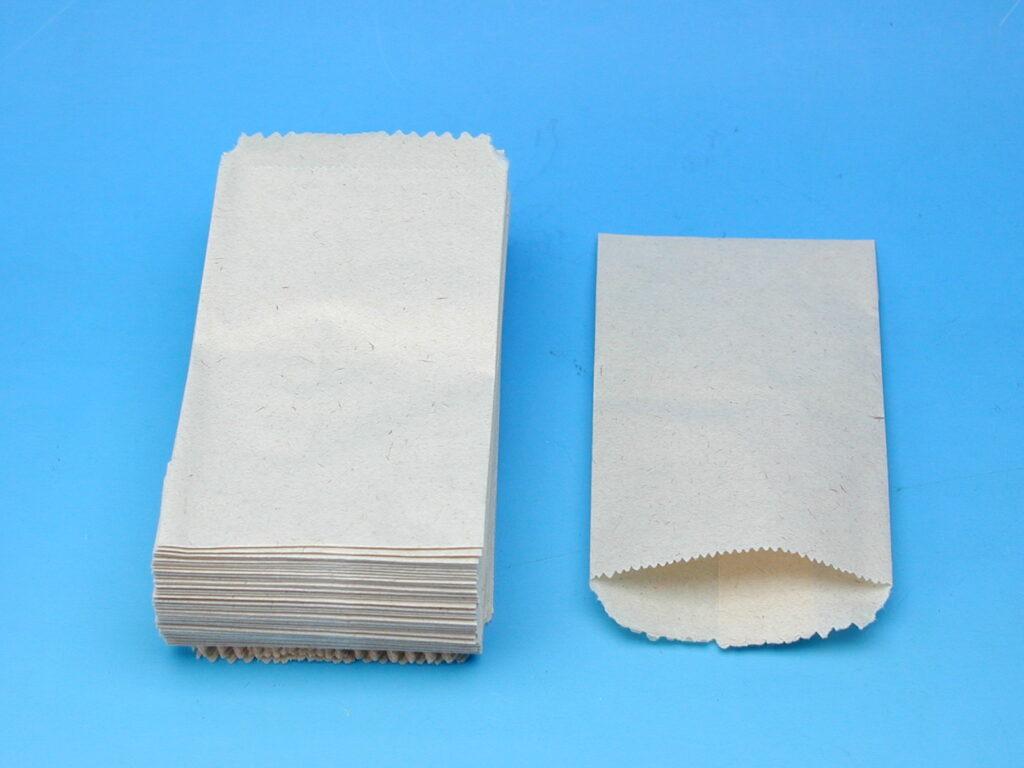 Sáček papírový 7x12cm lékárenský 100ks č.3