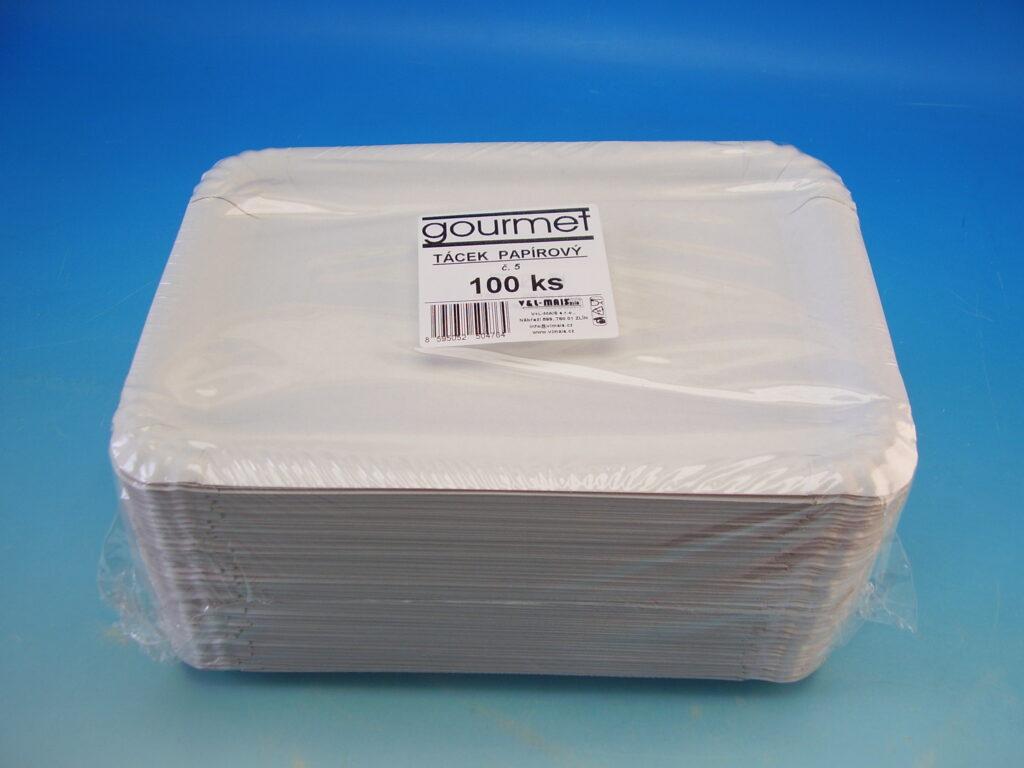Tácek 16x23cm č.5 papírový 100ks
