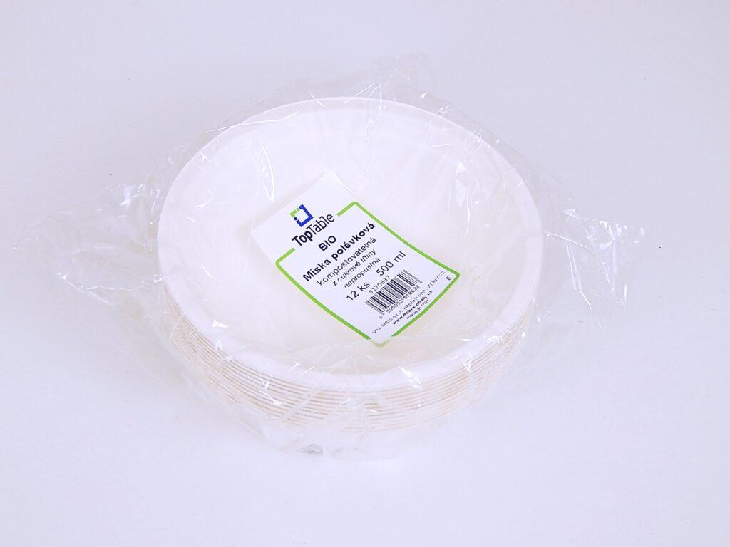 Miska polévková TT - BIO 500 ml / 12 ks