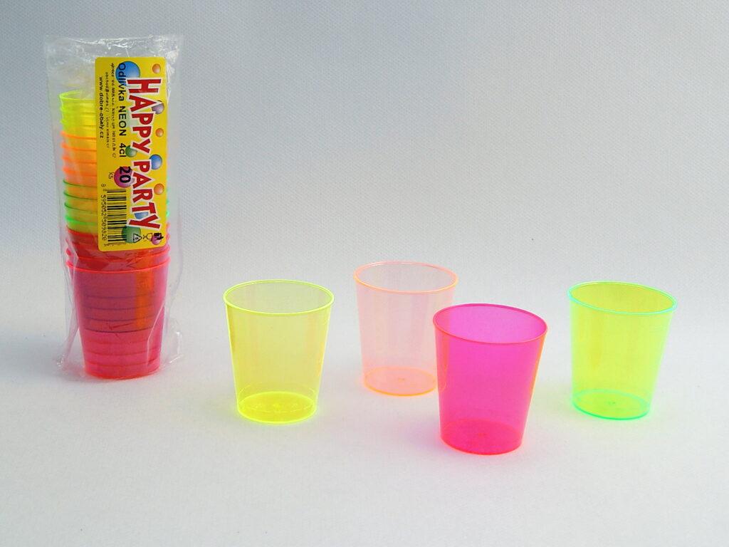 Odlivka na alkohol 0,04 neon 20ks /5000101/
