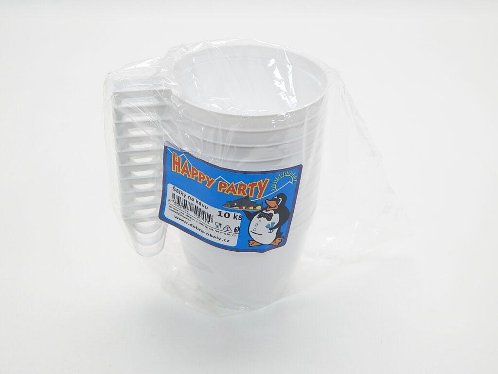 Šálek na kávu hnědý 10ks /2003020/