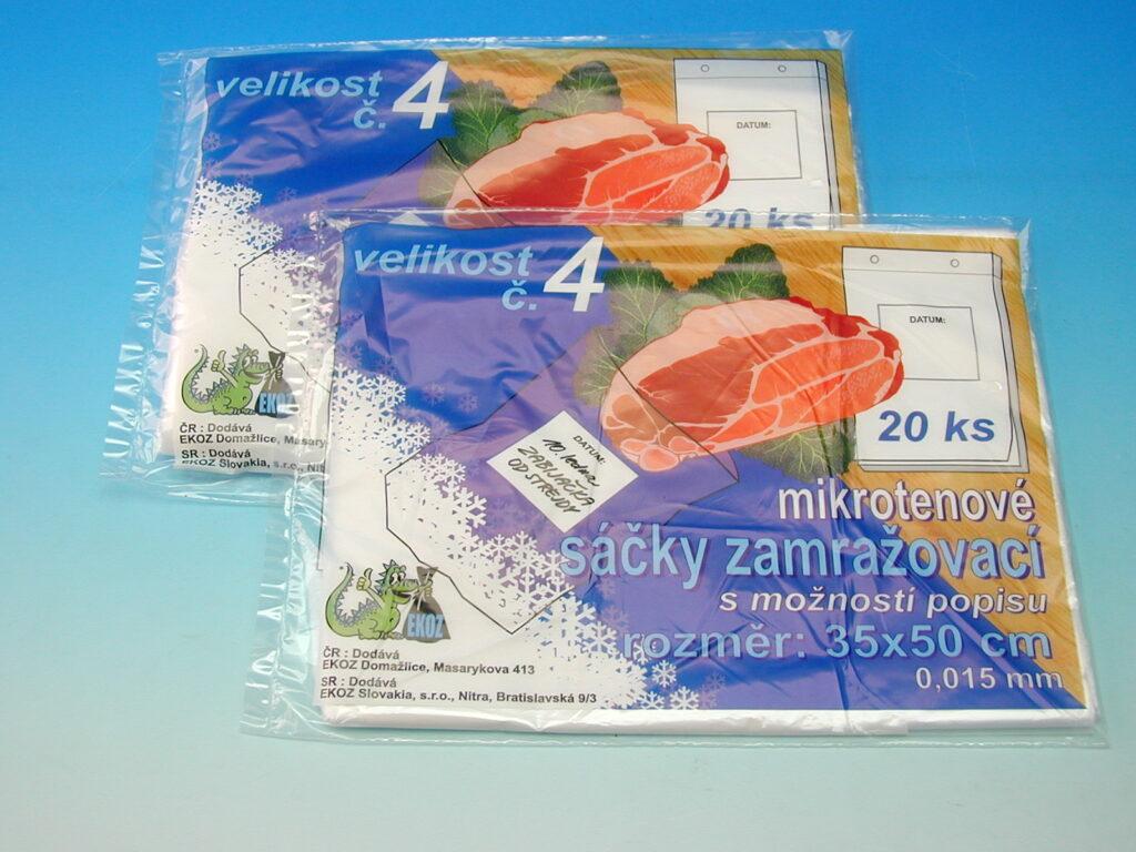 Sáček mikroten 35x50 zamražovací č.4 20ks
