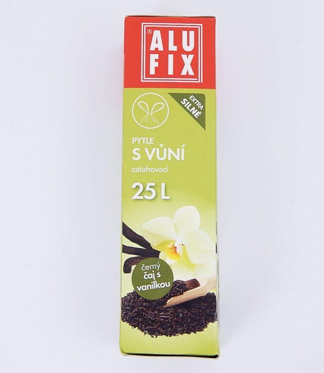 Pytel na odpad 25l 50x50cm 15ks/role Aroma-vanilka, zatah.