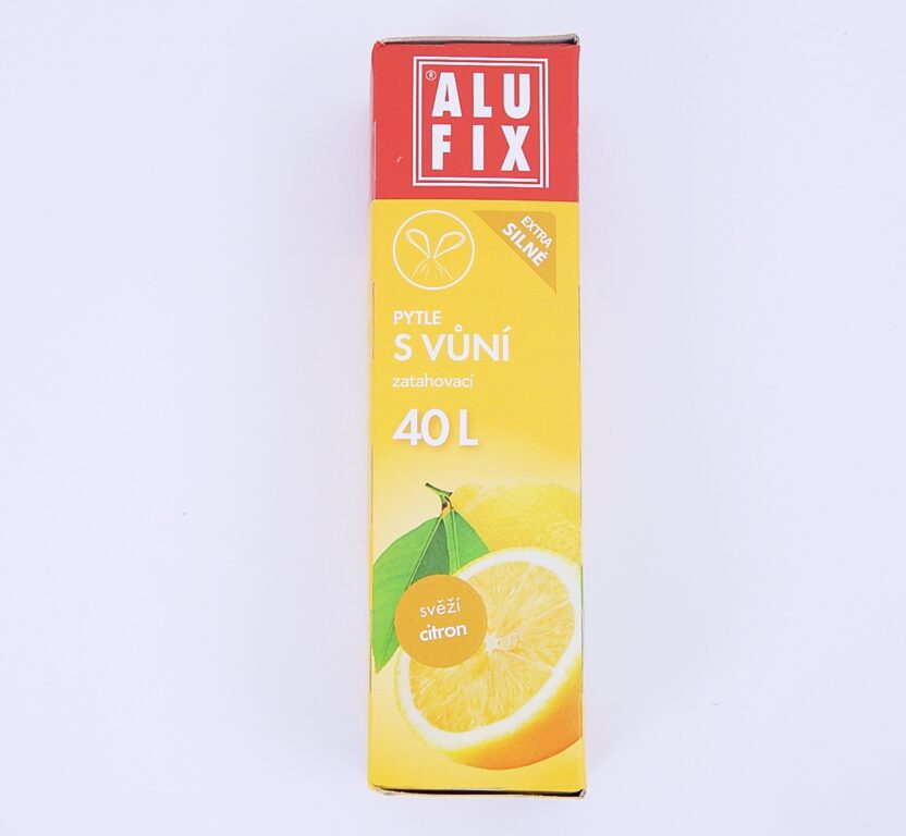 Pytel na odpad 40l 53x60cm 12ks/role Aroma-citron, zatah.