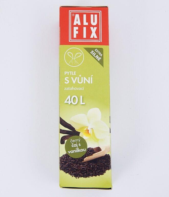 Pytel na odpad 40l 53x60cm 12ks/role Aroma-vanilka, zatah.