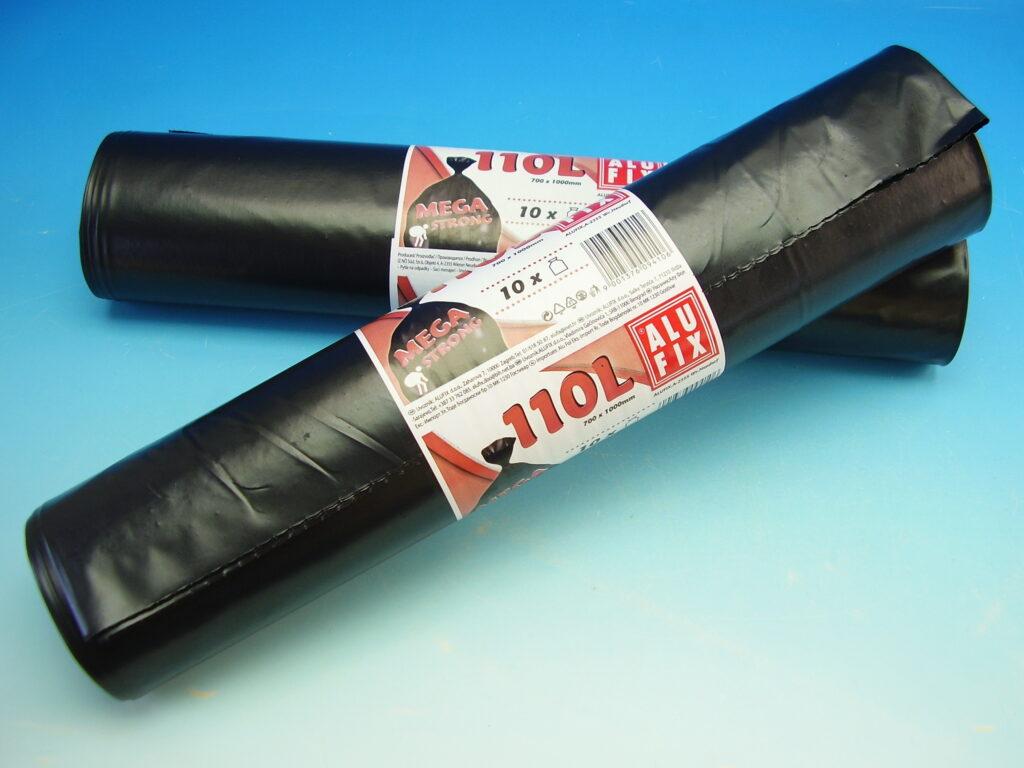 Pytel na odpad 110l 70x105cm 10ks role Alufix extra silné