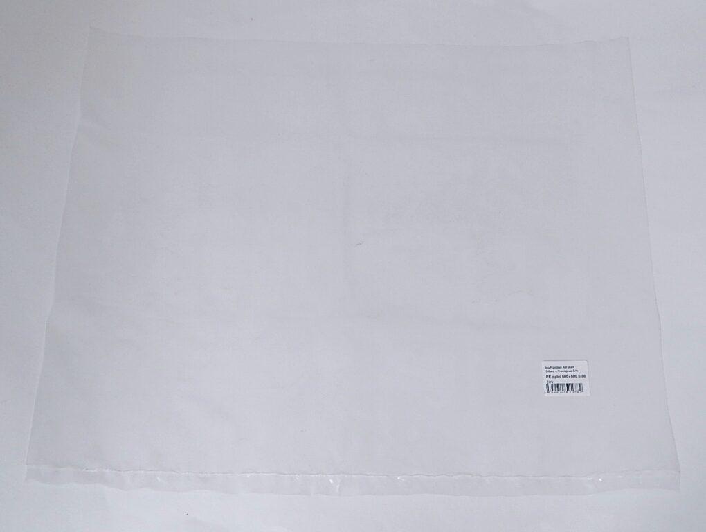 PE pytel 600x500 0,08mic/ čirý