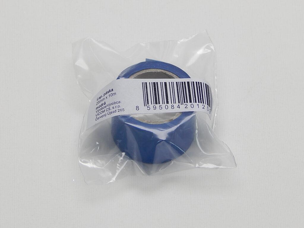 Páska lepící  25x10m  MODRÁ