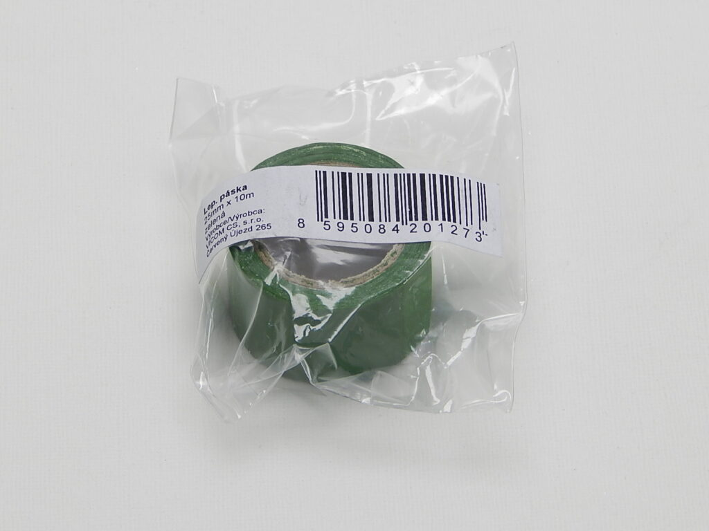 Páska lepící  25x10m ZELENÁ