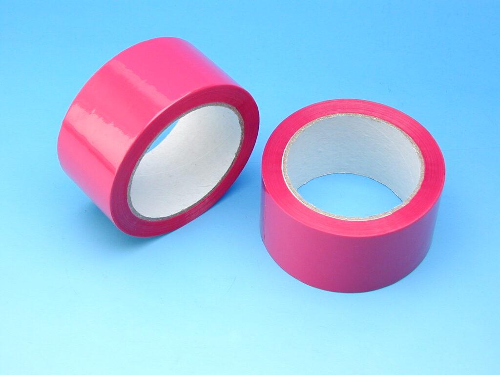 Páska lepící 48x66m červená