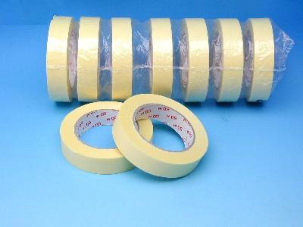 Páska lepící 25x50m krepová /1312010/