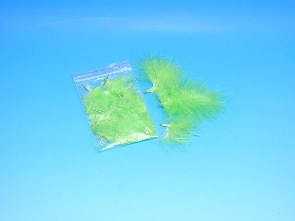 Peří MARABU 10ks sv.zelené 876406-10