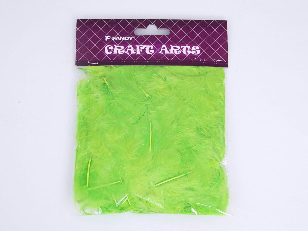 Peří 6 zelené 10g  /171752/