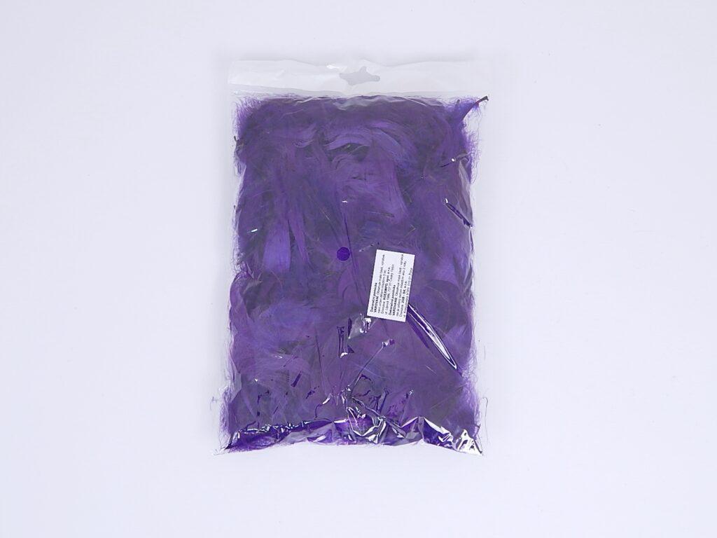 Peří kreativní fialové 10g DP /CEPI-021/