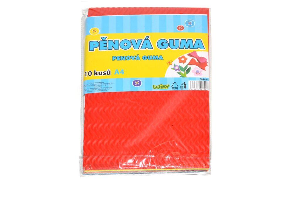 Guma pěnová 10ks A4 /884082/