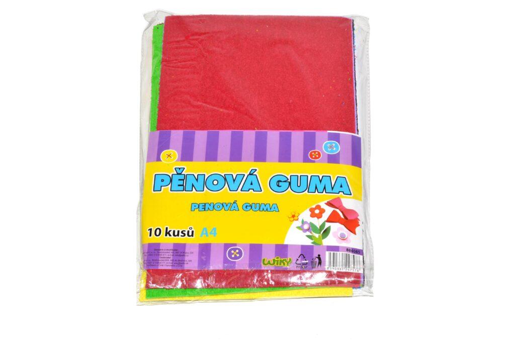 Guma pěnová 10ks A4 /884085/
