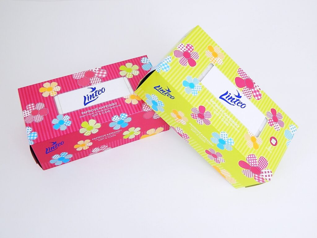 Kapesníčky kosmet. box 200 ks. / 30096
