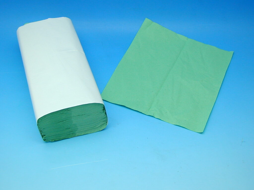 Ručníky papírové ZELENÉ