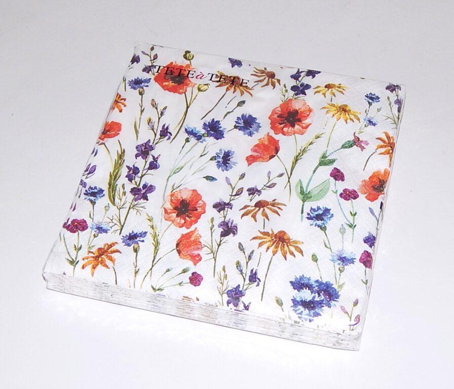 Ubrousky 33x33cm Polní květy /TL567000/