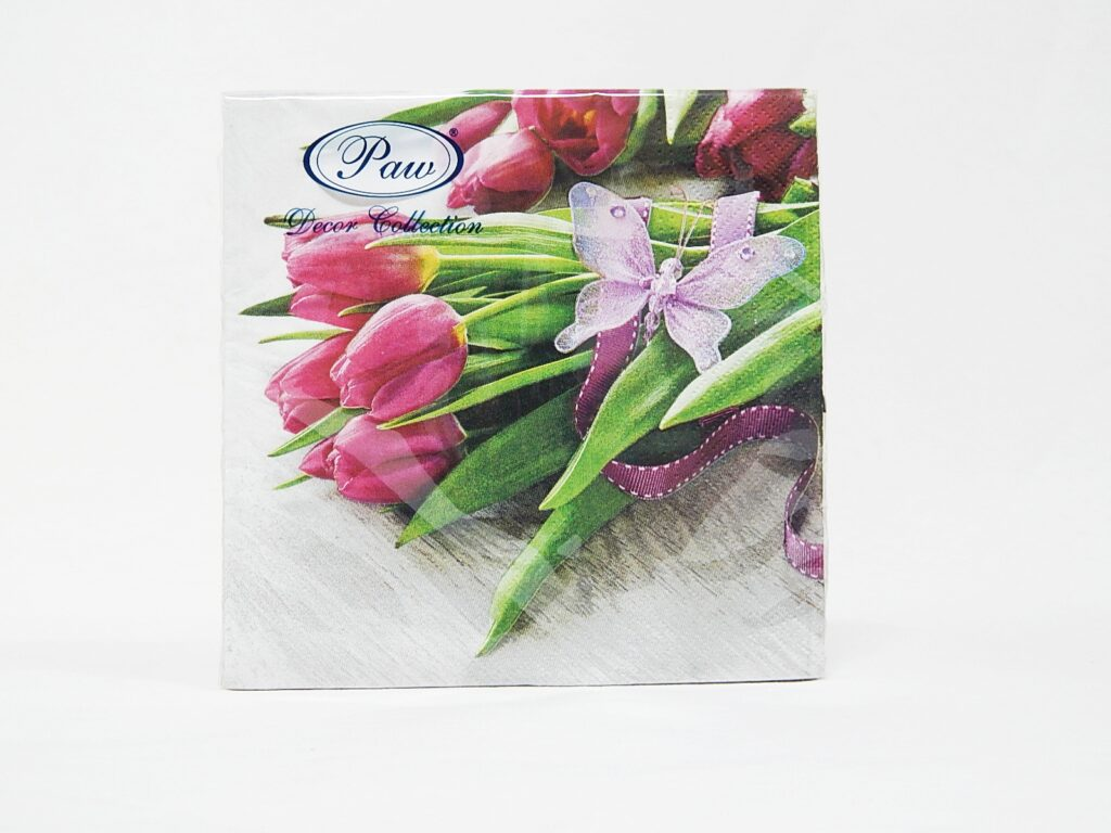 Ubrousky Tulipány 33x33cm /SDL085600/