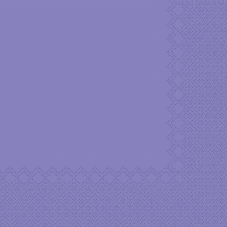 Ubrousky jednobarevné FIALOVÉ 3-vrstvý 33x33cm / 236004