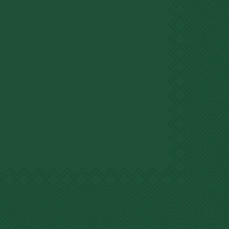 Ubrousky jednobarevné TM.ZELENÉ 3-vrstvý 33x33cm / 236014