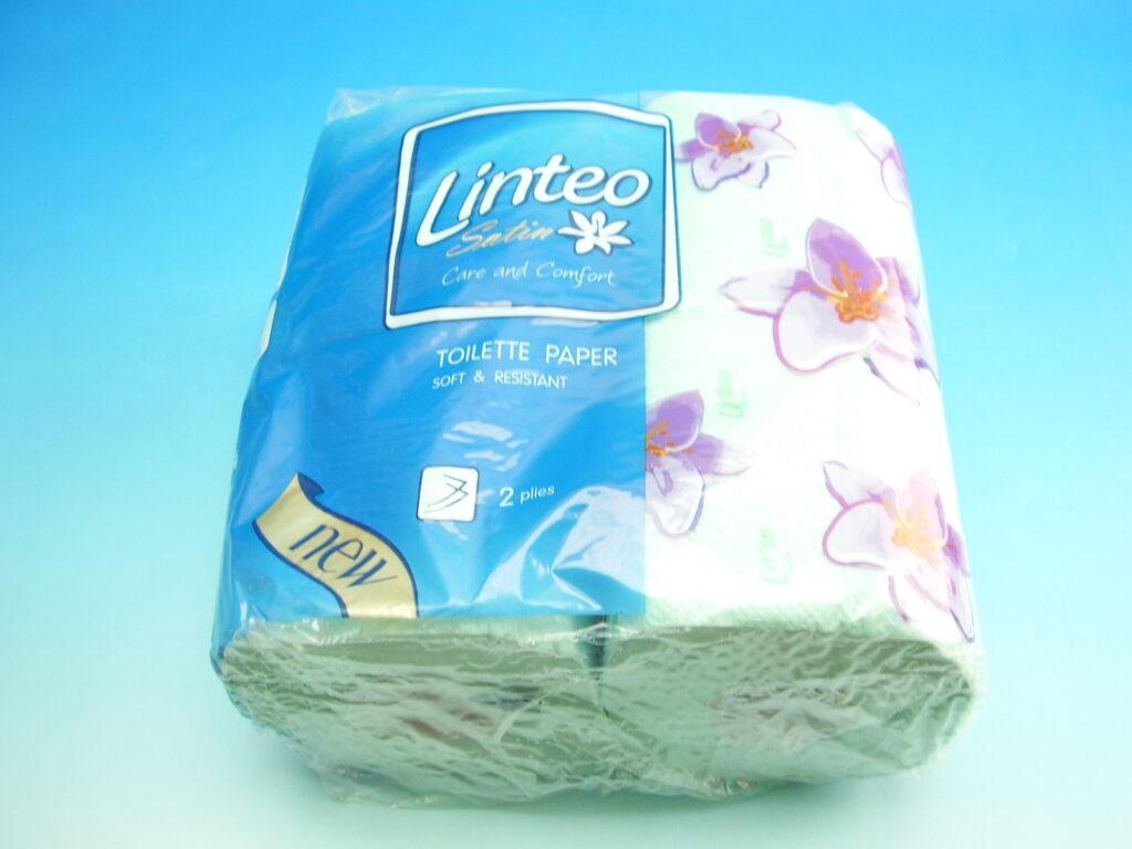 Papír toaletní LINTEO SATIN zelený 200ú.