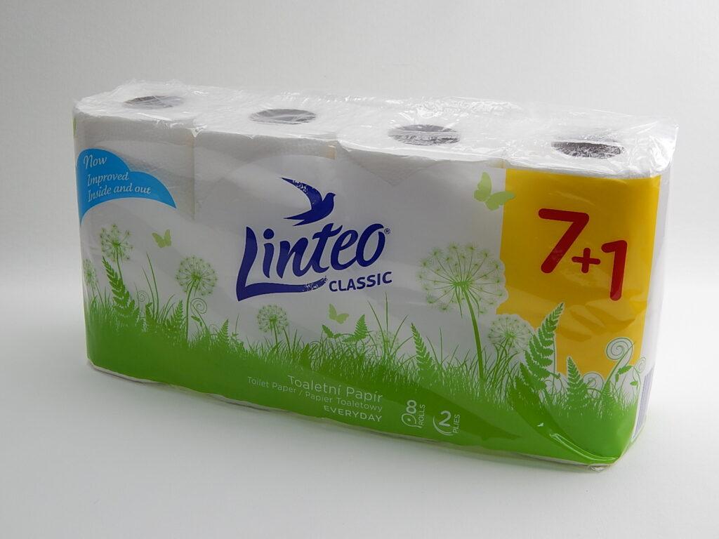 Papír toaletní LINTEO CLASSIC 7+1, 2 vrstvý