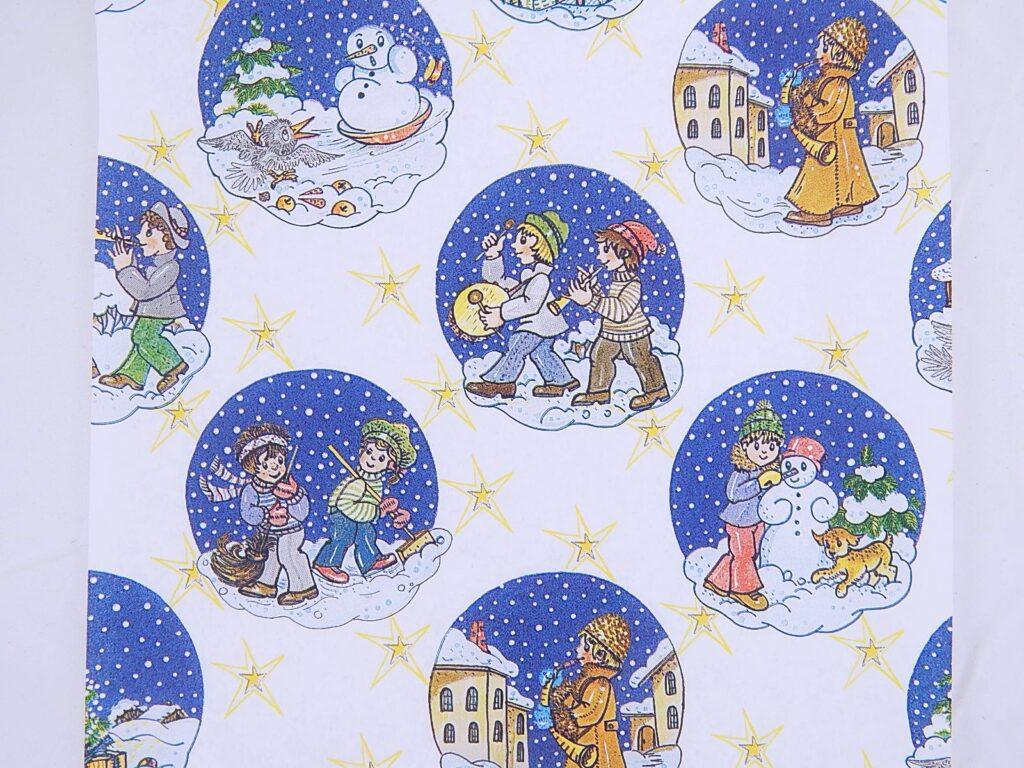 Papír vánoční Lika Vánoční dárky 70x100