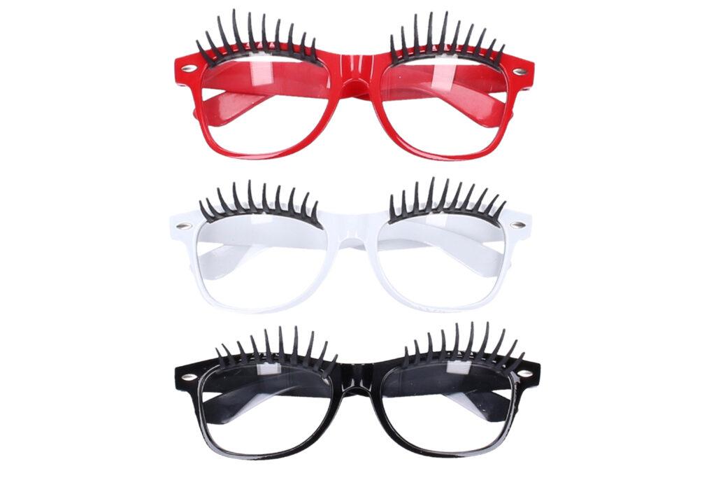 Maska brýle s řasami  / 880390