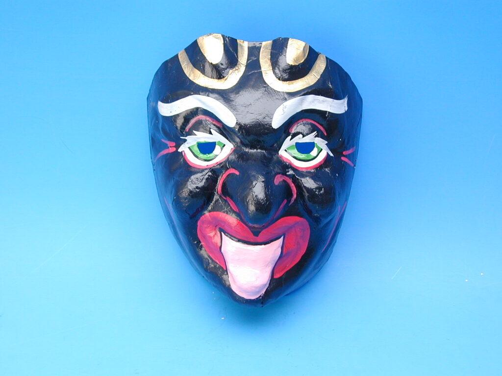 Maska 03005 ČERT ČRN karnevalová