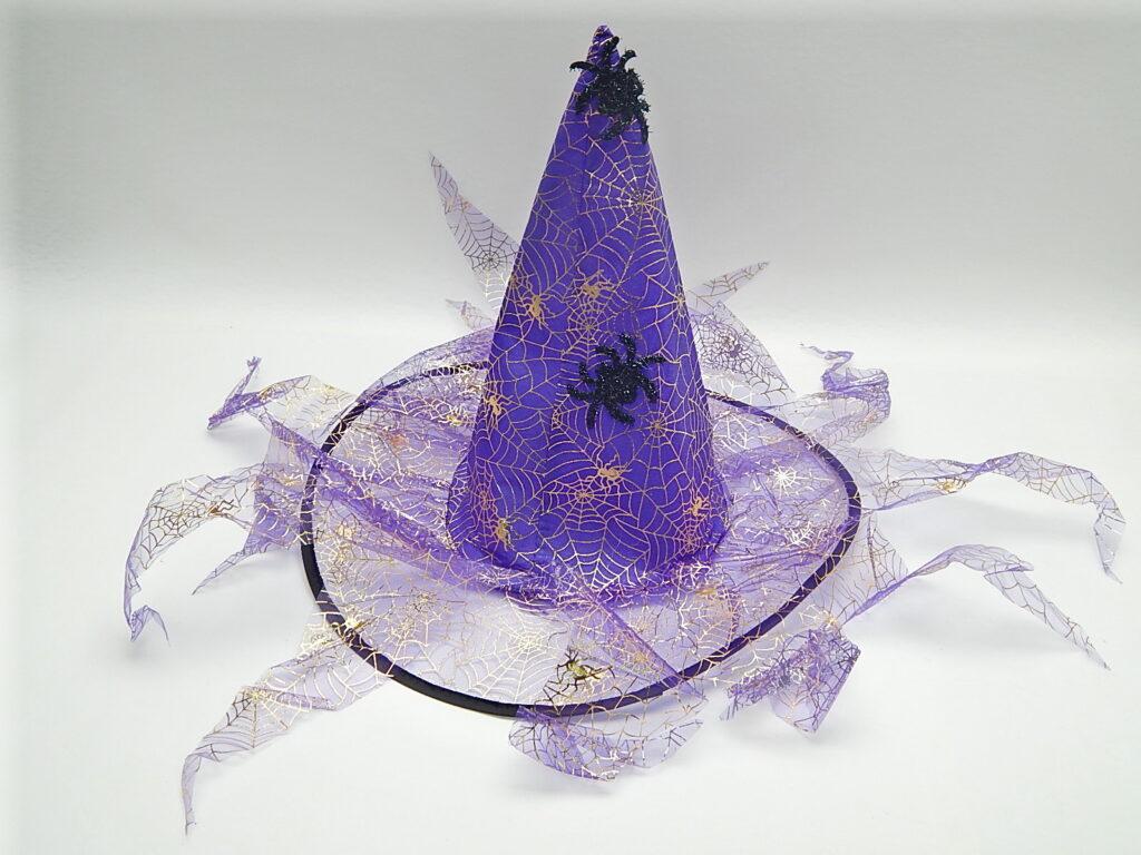 Maska Klobouk Čarodějnice s třásněmi 880228