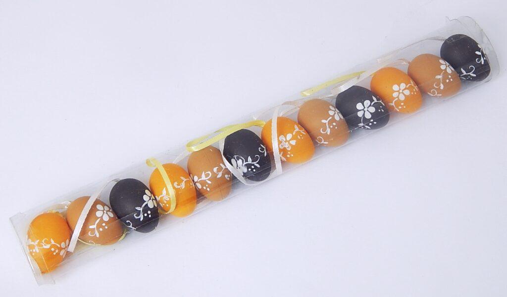 Vajíčka plastová 4 cm / 12 ks / 8926