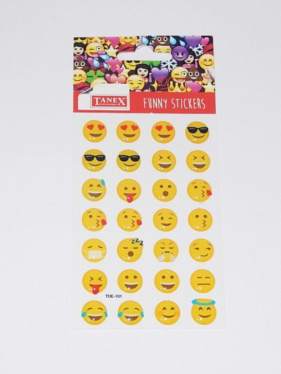 Samol. 3D TDE - 101 Emoji klasik 28 ks / TDE - 101