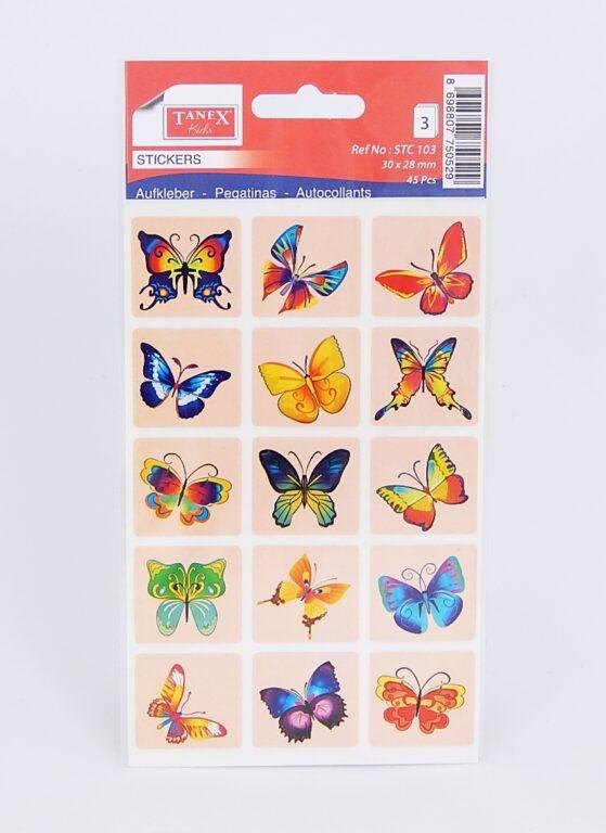Samol.STC-103 motýli mix 30 x 28 45ks