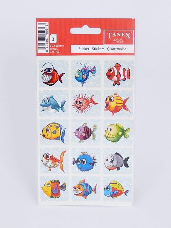Samol.STC-105 ryby mix 30 x 28 45ks