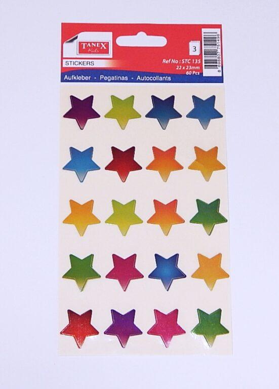 Samol. STC-135 hvězdy metal bar.22x23 60ks