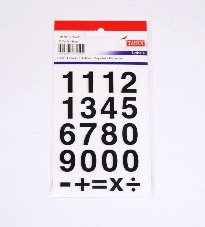 Samol.STC - 421 Čísla 13 x 20 32 ks