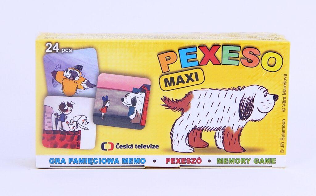 Pexeso LUX ČT Maxipes Fík, Káťa a Škubánek /5300863/