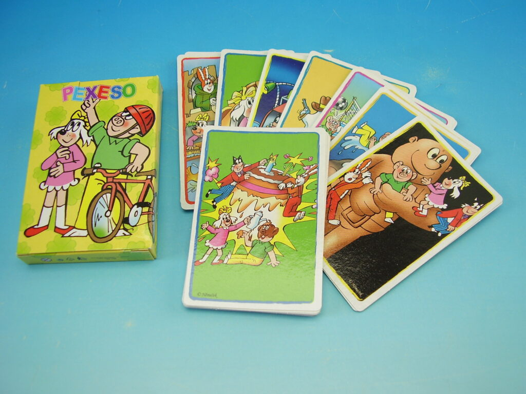 Pexeso karetní  Akim - Čtyřlístek