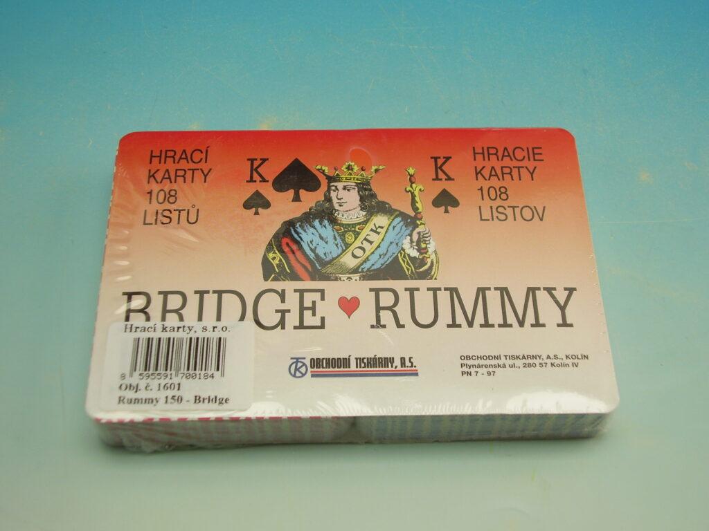 Karty 1601 Rummy 150 - Bridge