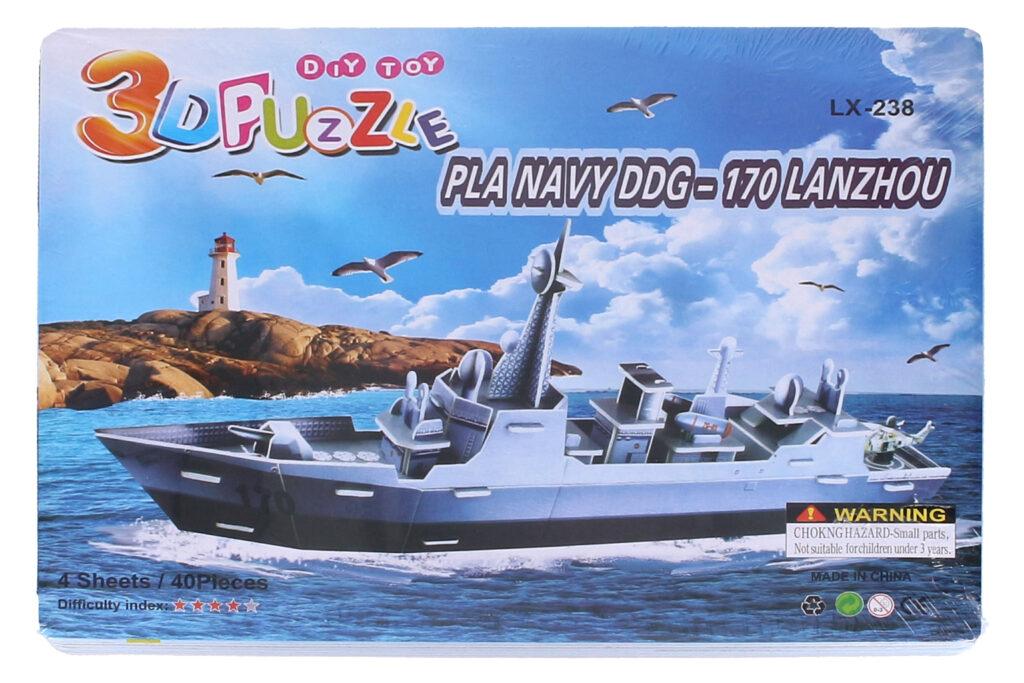 Puzzle 3D Loď /  816250