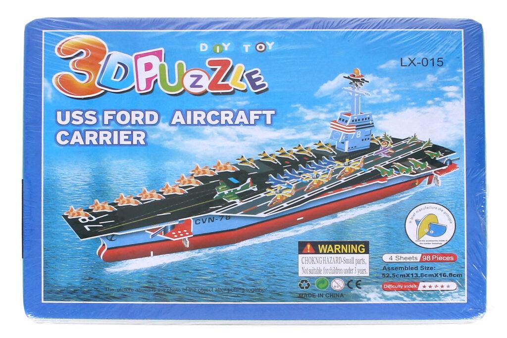 Puzzle 3D Loď / 816251