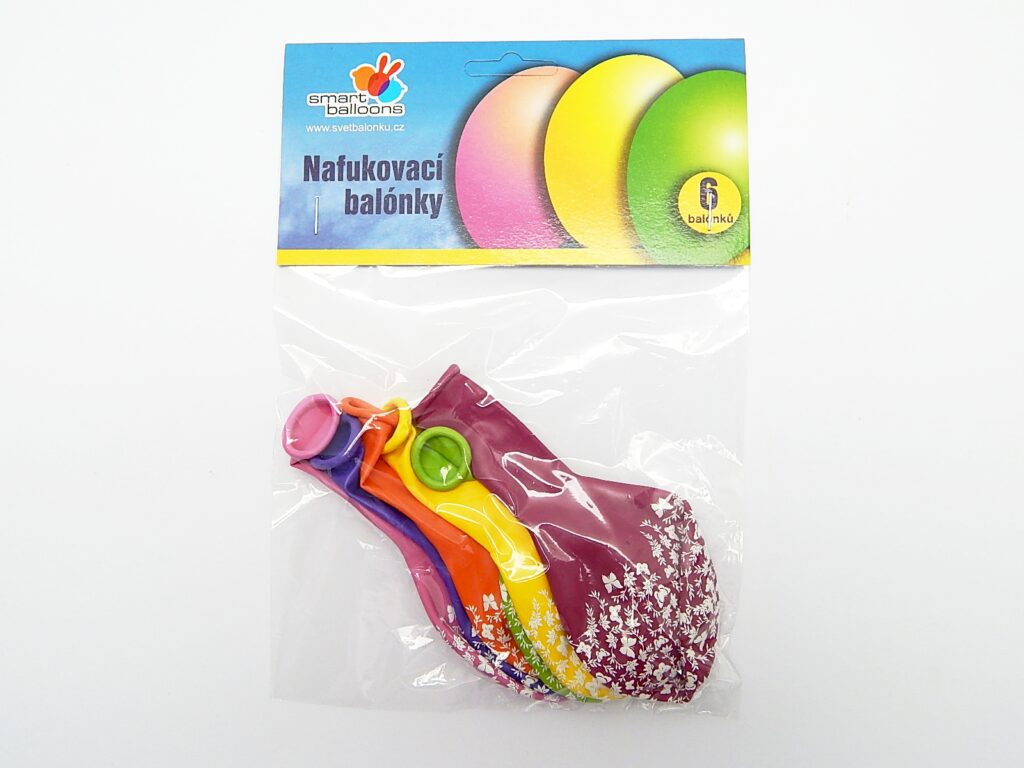Balónek naf. PGS110 MOTÝLCI    6 ks