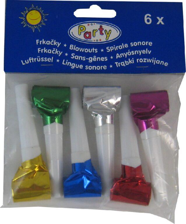 Frkačky 6ks barevné (99350) /66842/