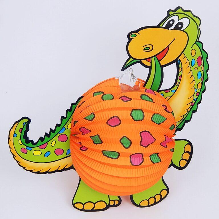 Lampion Dinosaurus 20cm /885330/