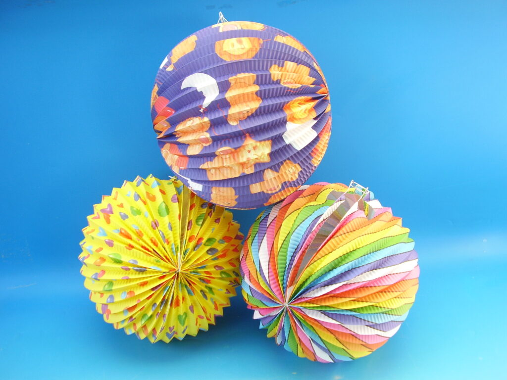 Lampion koule 25cm /885377/