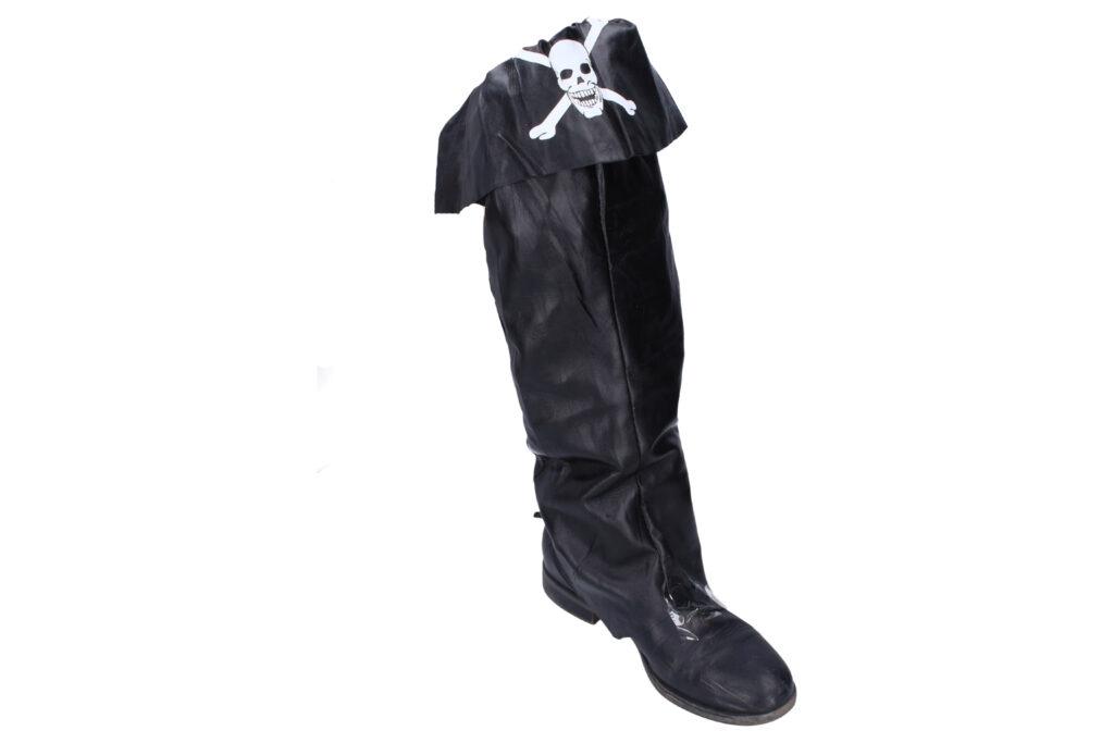 Maska - Pirát  návleky na boty 45cm / 880413